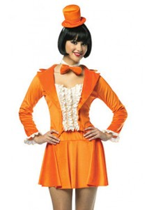 Fancy Dumb and Dumber Harry Orange Tuxedo Costume
