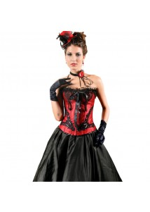 Elegant Moments Corset Black and Red