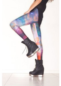Magnificent Galaxy Print Legging