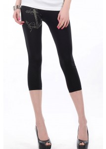 Simple Style Short Legging