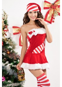 3 Pc Santa's Candy Cane