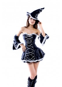 Elegant Witch halloween Costumes