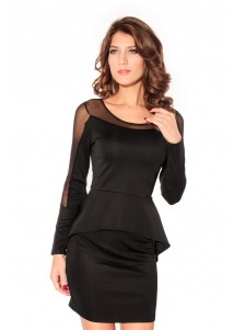 Fashion-forward Peplum Dress Set