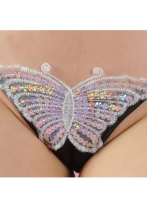 Butterfly covered charming G-string