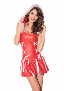 Mellifluous Bra Sexy Adult Christmas Costume