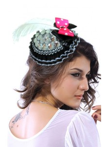 Luxury Elegant Party Accessories,Victoria Mini Top-hat