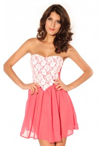 Bewitching Dipped Waist Kelly Dress