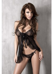 Dissolute Isida Lace Up Baby doll hot sexy transparent nighties