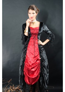 Gothic Devil Vampire Lady Costume