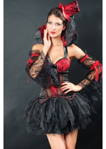 Greedy Vampire Lady Costume