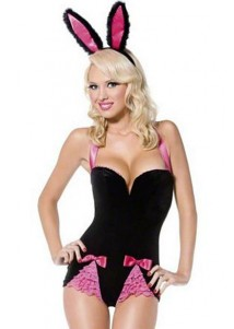 Hot Beauty Bunny Lingerie Costume