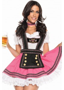4-Piece SweetBeer Babe Girl Costume