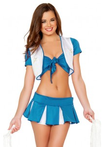 Sexy Naughty Halftime Cheerleader Costume