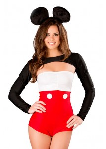 Sexy Tux & Ears Mickey Costume