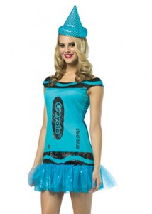 Crayola Glitz and Glitter Steel Blue Costume