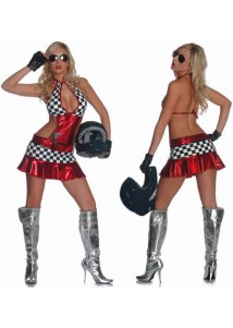 Tempting Racing Girl Hottie Cosplay Costume