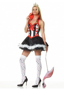 Elegant Sexy Party Queen Holloween Costume