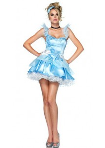 Sweet Hottie Light Blue Princess Costume