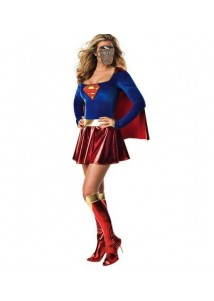 Sexy Hollween SuperWoman Cosplay Costume