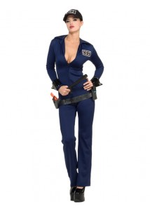 Sexy CSI Officer Costume