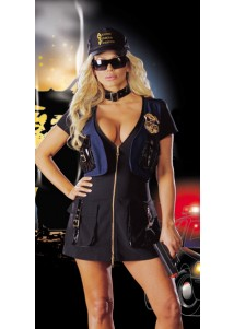 Sexy ATF Police Costume