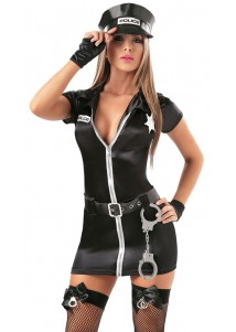 Hot Police Girl Costume