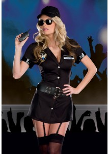 Tempting Police Hottie Cosplay Costume