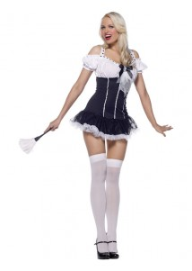 French Maid Sexy Skirt Costume