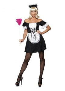 Elegant Mistress Maid Cosplay Costume
