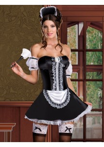 Super Sexy French Maid Costume Set