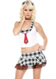 Hot Party Queen School Girl Costume