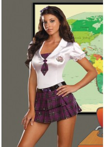 Charming Good Student Girl Cosplay Costume