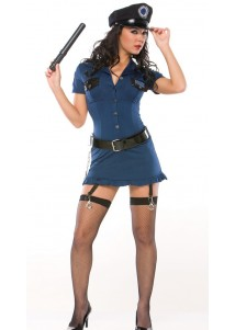 US Cop Cosplay Costume