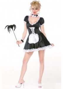 Tempting French Maid Costume Set